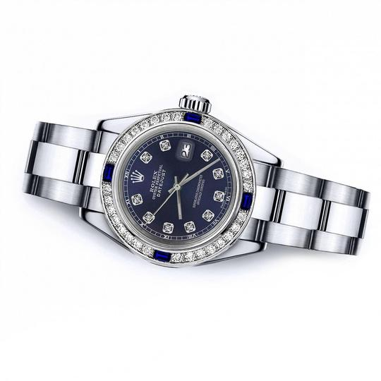 Rolex Rolex Navy 26mm Datejust Diamond & Sapphire Bezel Image 1