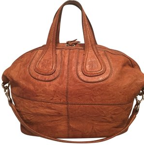 81d7d182216 Givenchy Satchel in brown · Givenchy. Medium Nightingale Brown Distressed Leather  Satchel