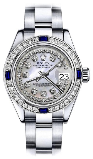 Preload https://img-static.tradesy.com/item/24222662/rolex-stainless-steel-white-pearl-string-26mm-datejust-diamond-and-sapphire-bezel-watch-0-1-540-540.jpg