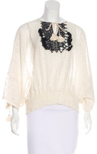 Vineet Bahl Top Ivory