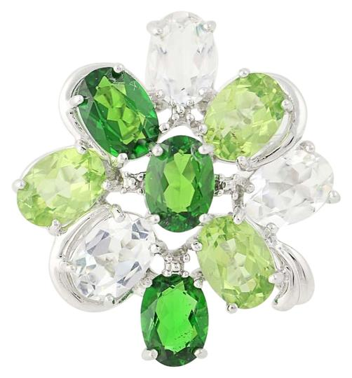 Preload https://img-static.tradesy.com/item/24222904/white-gold-new-topaz-peridot-and-chrome-diopside-14k-cluster-n9391-ring-0-1-540-540.jpg
