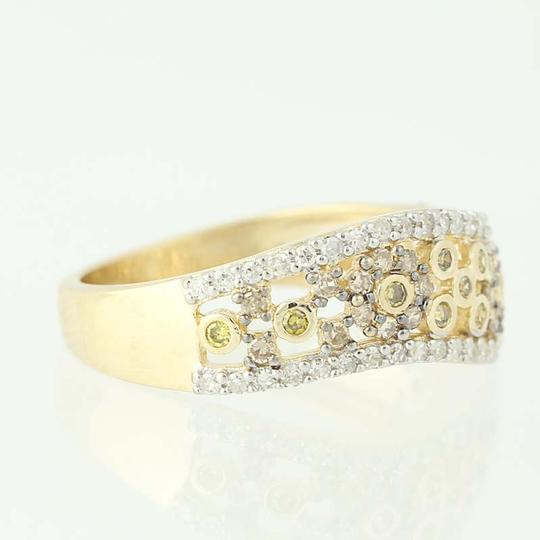 Other NEW Floral Diamond Ring - 14k Yellow Gold N9491 Image 1