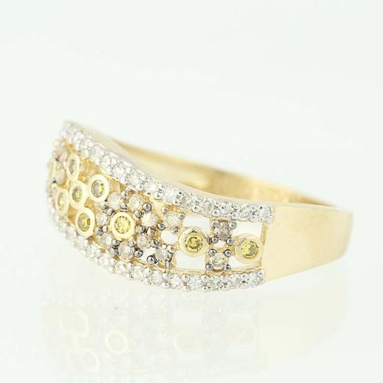Other NEW Floral Diamond Ring - 14k Yellow Gold N9491 Image 2