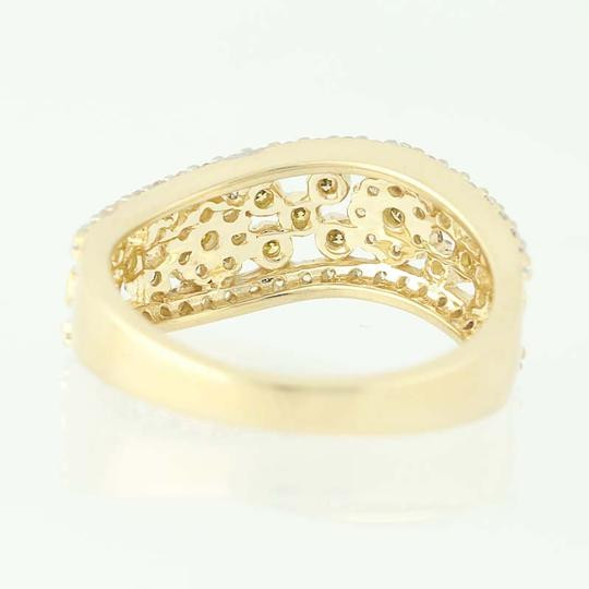 Other NEW Floral Diamond Ring - 14k Yellow Gold N9491 Image 3