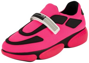 Prada Trainer Cloud Bust Knit Pink Athletic