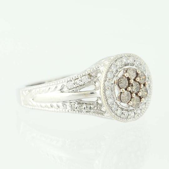 Other NEW Diamond Halo Ring - 14k White Gold N9509 Image 1