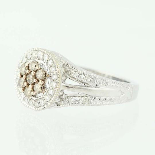 Other NEW Diamond Halo Ring - 14k White Gold N9509 Image 2