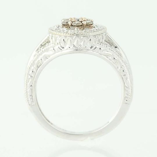 Other NEW Diamond Halo Ring - 14k White Gold N9509 Image 4