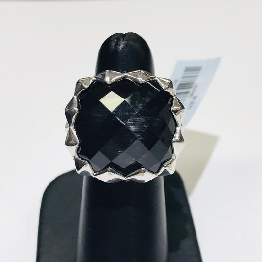 Stephen Webster Stephen Webster Grey Cat's Eye and Clear Quartz Crystal Haze Cushion Ring Sterling Silver Grey Cat's Eye and Clear Quartz Crystal 32.5 carats total weight 22.5 grams Size 6 100% Authentic Guaranteed!!! Comes with Original Stephen Webster Pouch!! Image 3