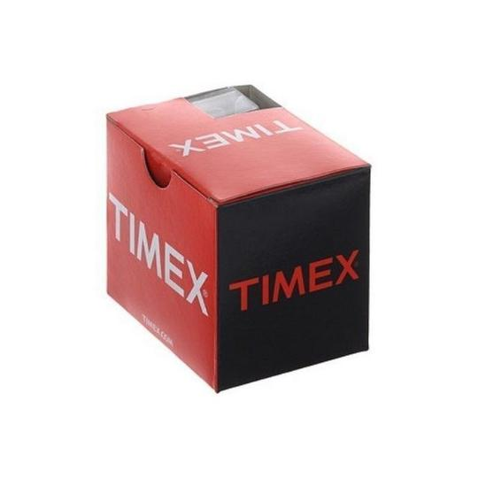 Timex T2P461 Originals Women's Black Leather Band With Black Analog Dial Image 2