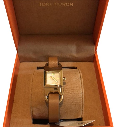 Preload https://img-static.tradesy.com/item/24223068/tory-burch-brown-and-green-t-double-link-reversible-watch-0-1-540-540.jpg