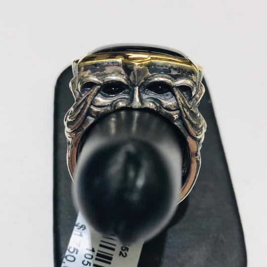 Stephen Webster Stephen Webster Superstud Silver/18 Karat Yellow Gold Spiderman Jasper and Garnet Gargoyle Rectangle Ring Sterling Silver/18 Karat Yellow Gold 27.1 grams Size 10 100% Authentic Guaranteed!!! Comes with Original Stephen Webster Pouch!! Image 11