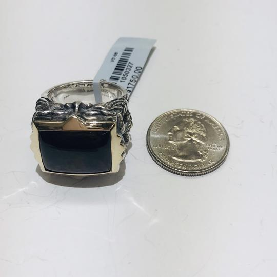 Stephen Webster Stephen Webster Superstud Silver/18 Karat Yellow Gold Spiderman Jasper and Garnet Gargoyle Rectangle Ring Sterling Silver/18 Karat Yellow Gold 27.1 grams Size 10 100% Authentic Guaranteed!!! Comes with Original Stephen Webster Pouch!! Image 5