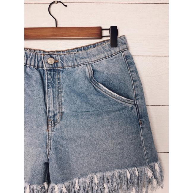 Zara Cut Off Shorts Denim Image 5