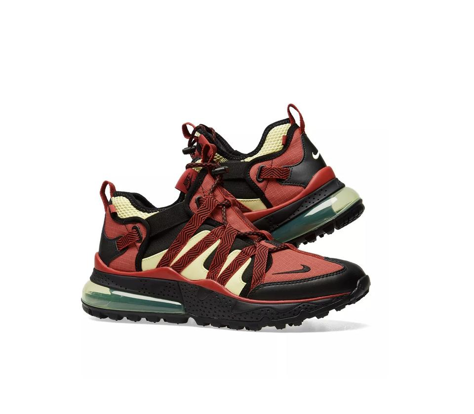 designer fashion 4ea7b e7213 Nike Red Air Max 270 Bowfin Sneakers Size US 8.5 Wide (C, D) 17% off retail