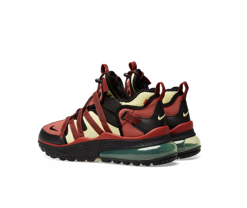 designer fashion 681ae cd595 Nike Red Air Max 270 Bowfin Sneakers Size US 8.5 Wide (C, D) 17% off retail