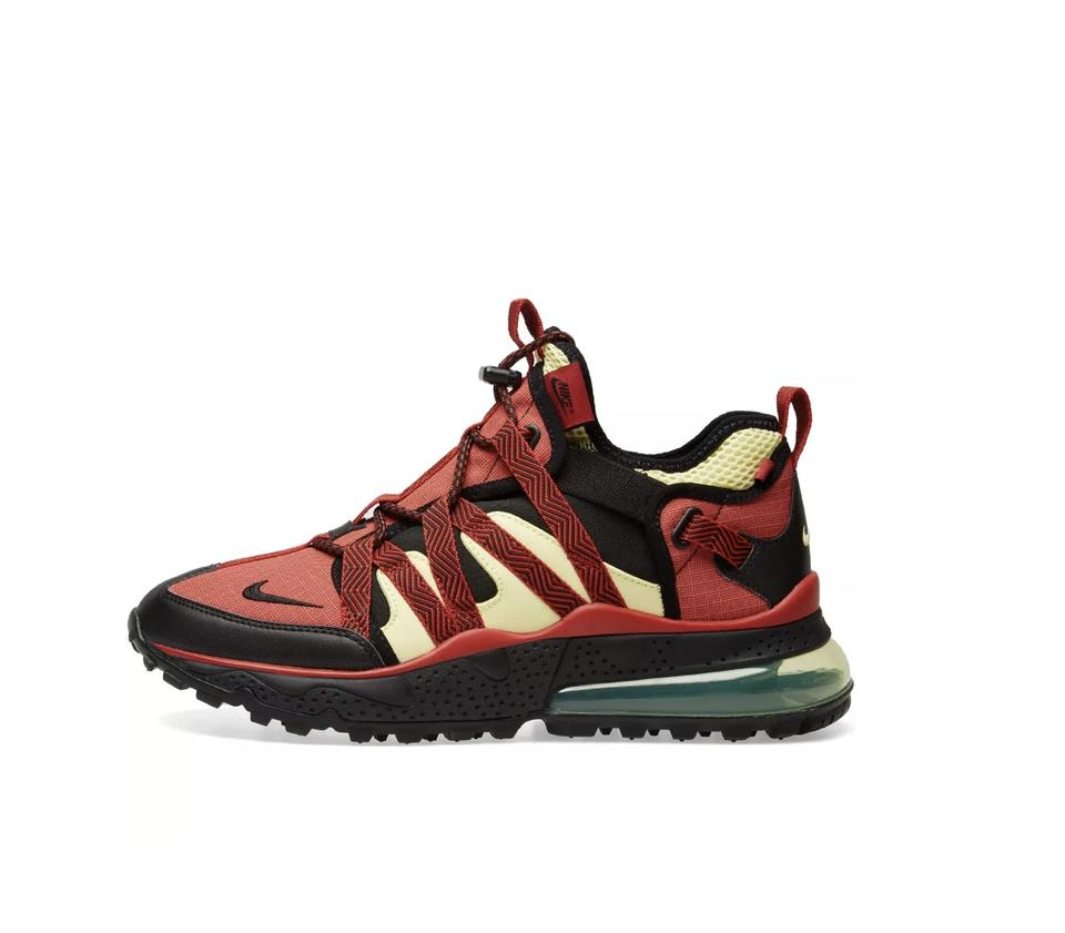 designer fashion 5e565 15586 Nike Red Air Max 270 Bowfin Sneakers Size US 8.5 Wide (C, D) 17% off retail