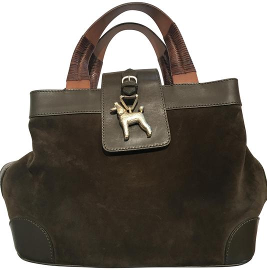 Preload https://img-static.tradesy.com/item/24223176/barry-kieselstein-cord-gold-standard-in-poodles-army-green-suede-leather-shoulder-bag-0-1-540-540.jpg
