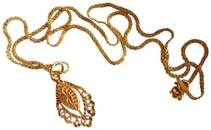 Other Real Saudi Gold 21k Necklace INTRICATE!!