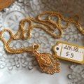 Other Real Saudi Gold 21k Necklace INTRICATE!! Image 1