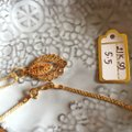 Other Real Saudi Gold 21k Necklace INTRICATE!! Image 3