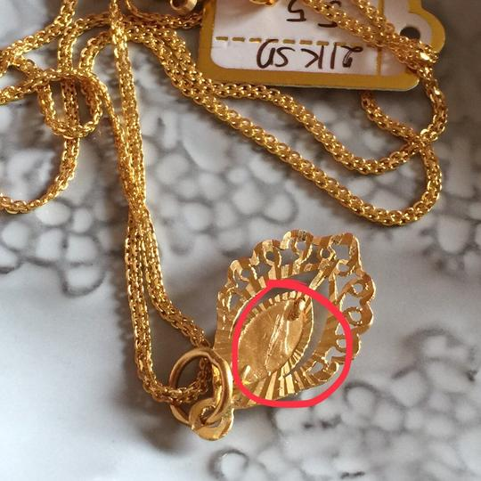 Other Real Saudi Gold 21k Necklace INTRICATE!! Image 5