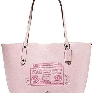 Coach Tote in Ice pink