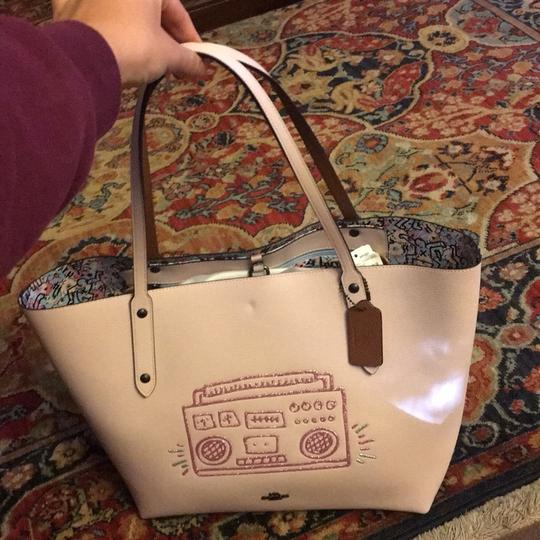 Coach Tote in Ice pink Image 1