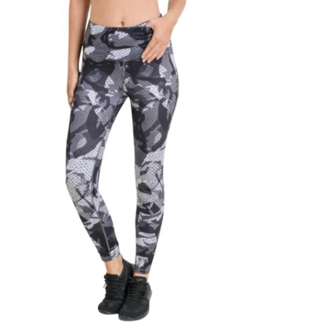 Mono B S Mono B Camo Yoga Leggings Squat Proof High Waist Yoga Pants DJ6121 Image 1
