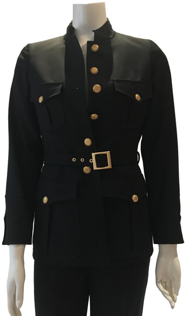 Preload https://img-static.tradesy.com/item/24223257/chanel-army-green-military-style-pant-suit-size-6-s-0-1-650-650.jpg