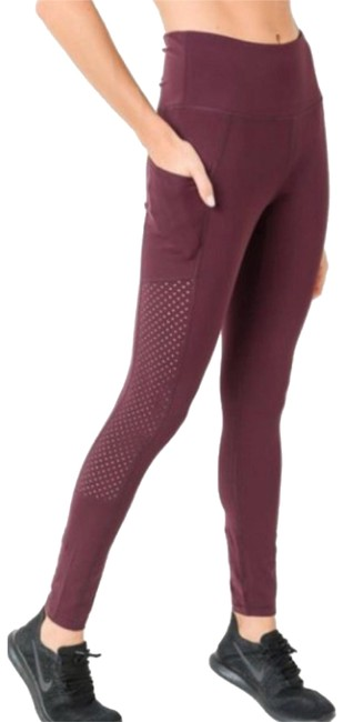 Mono B M Mono B Plum Yoga Leggings Squat Proof High Waist Yoga Pants DJ6118 Image 1