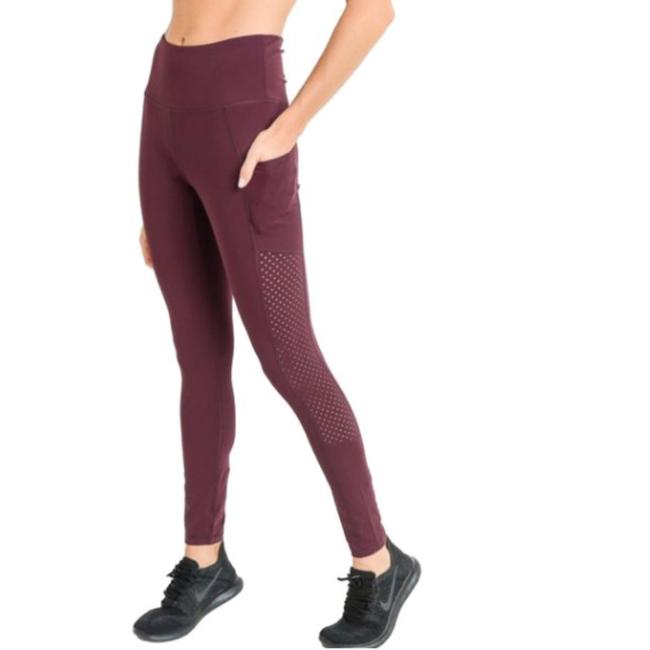 Mono B M Mono B Plum Yoga Leggings Squat Proof High Waist Yoga Pants DJ6118 Image 4