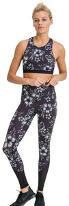 Mono B S Mono B Floral Yoga Leggings Squat Proof High Waist Yoga Pants DJ2165