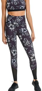 Mono B M Mono B Floral Yoga Leggings Squat Proof High Waist Yoga Pants DJ2165