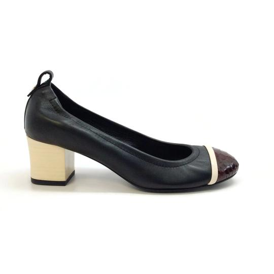 Lanvin Black / Burgundy Pumps Image 1