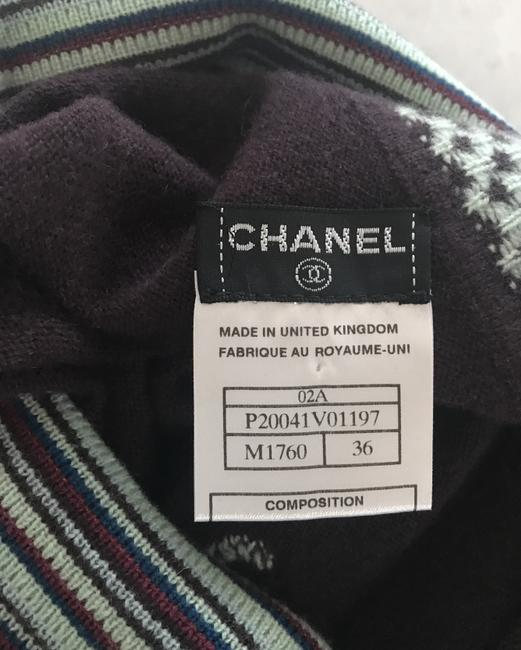 Chanel Skirt Brown/blue Image 1