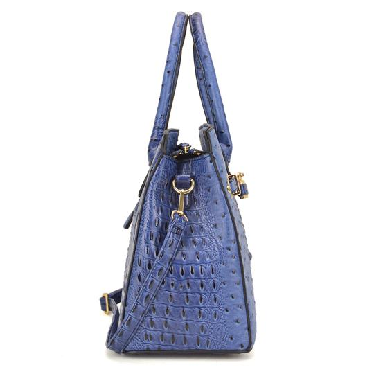 Other Designer Inspired The Treasured Hippie Affordable Bags Large Handbags Vintage Satchel in Blue Image 1