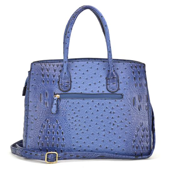 Other Designer Inspired The Treasured Hippie Affordable Bags Large Handbags Vintage Satchel in Blue Image 4