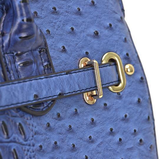 Other Designer Inspired The Treasured Hippie Affordable Bags Large Handbags Vintage Satchel in Blue Image 5