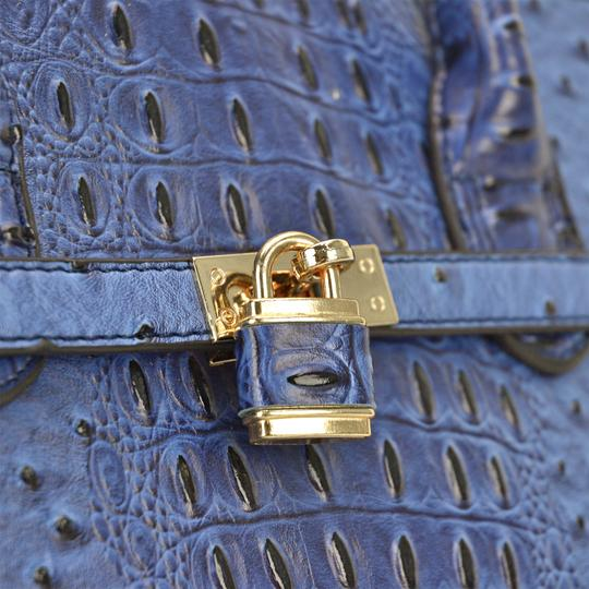 Other Designer Inspired The Treasured Hippie Affordable Bags Large Handbags Vintage Satchel in Blue Image 7