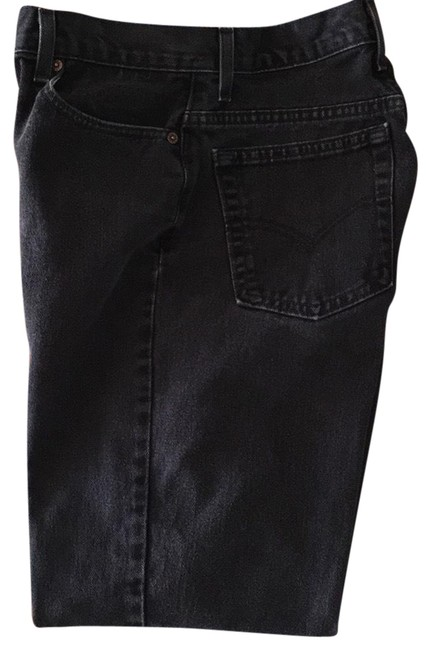Preload https://img-static.tradesy.com/item/24223402/levi-s-black-550s-relaxed-fit-jeans-size-12-l-32-33-0-1-650-650.jpg