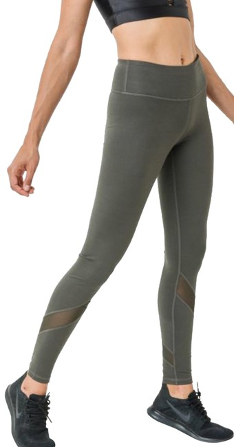 Preload https://img-static.tradesy.com/item/24223444/mono-b-green-l-olive-yoga-mesh-panels-high-waist-dj1324-activewear-bottoms-size-12-l-32-33-0-3-650-650.jpg