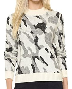 Veronica Beard Camo Wool Sweater