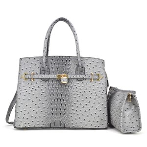 Other Designer Inspired The Treasured Hippie Affordable Bags Large Handbags Vintage Satchel in Gray
