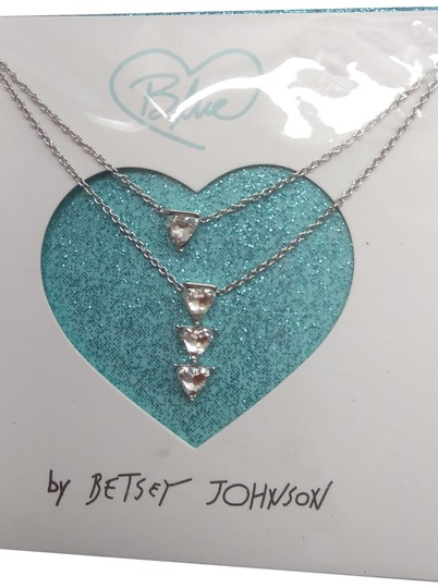 Preload https://img-static.tradesy.com/item/24223506/betsey-johnson-silver-new-4-rhinestone-triangle-necklace-0-1-540-540.jpg