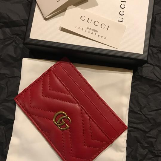 Gucci GG Marmont quilted leather cardholder Image 5