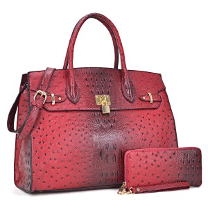 Other The Treasured Hippie Designer Inspired Vintage Large Handbags Affordable Bags Satchel in Red