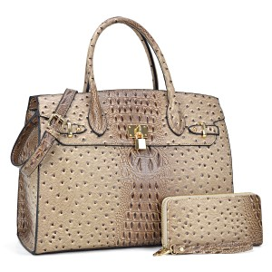 Other The Treasured Hippie Designer Inspired Vintage Large Handbags Affordable Bags Satchel in Taupe
