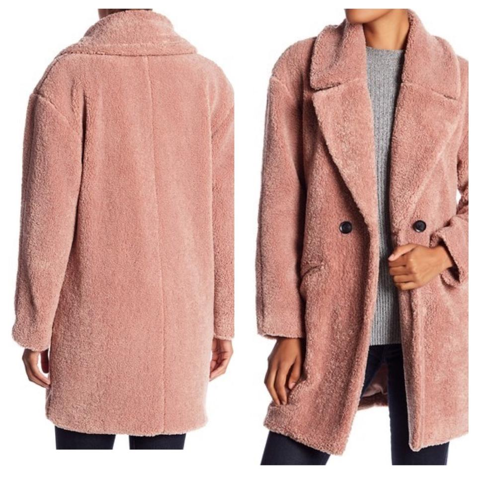sale usa online classic how to purchase Blush Missy Teddy Bear Faux Fur Jacket Coat Size 12 (L)