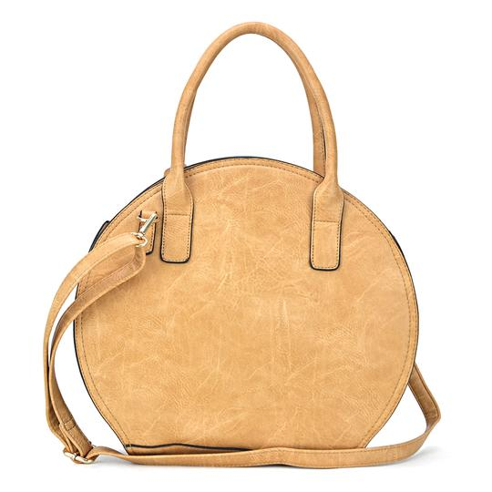 Other The Treasured Hippie Designer Inspired Vintage Affordable Bags Large Handbags Satchel in Taupe Image 2
